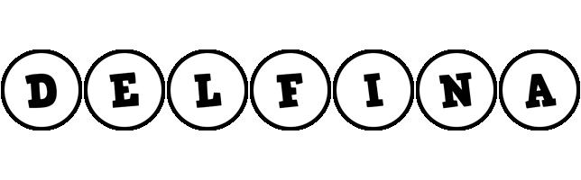 Delfina handy logo