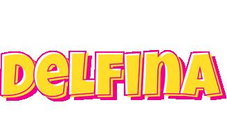 Delfina kaboom logo