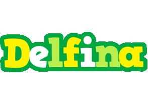Delfina soccer logo