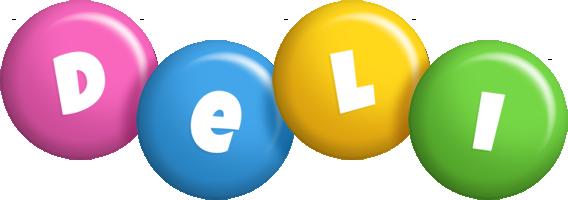 Deli candy logo