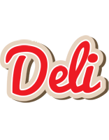 Deli chocolate logo