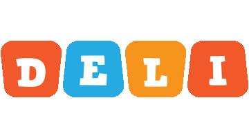 Deli comics logo