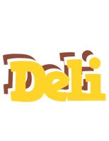 Deli hotcup logo