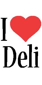 Deli i-love logo