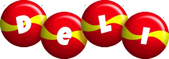 Deli spain logo