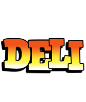 Deli sunset logo