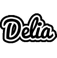 Delia chess logo