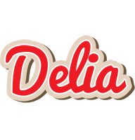 Delia chocolate logo