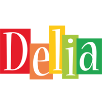Delia colors logo