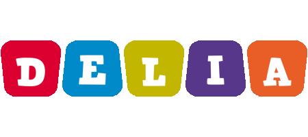Delia daycare logo