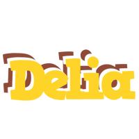 Delia hotcup logo