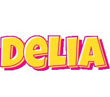 Delia kaboom logo