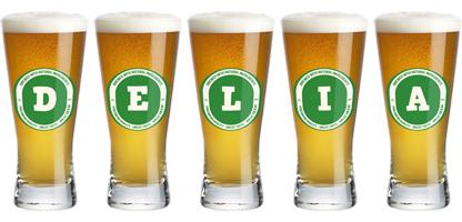 Delia lager logo