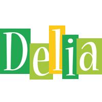 Delia lemonade logo