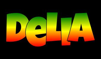 Delia mango logo