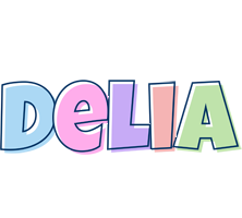 Delia pastel logo