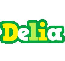 Delia soccer logo