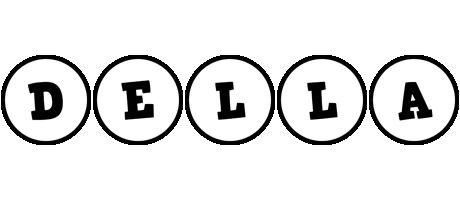 Della handy logo