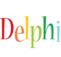 Delphi birthday logo