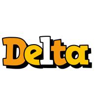 Delta cartoon logo