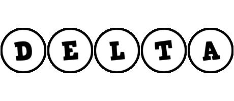 Delta handy logo
