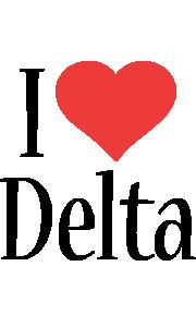 Delta i-love logo