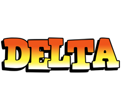 Delta sunset logo