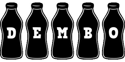 Dembo bottle logo