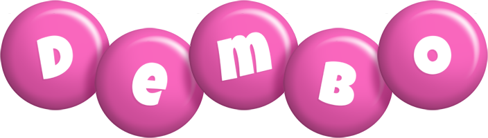 Dembo candy-pink logo