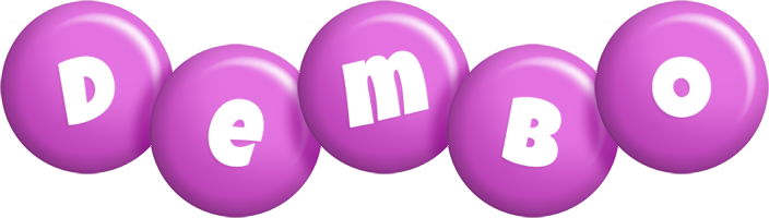 Dembo candy-purple logo