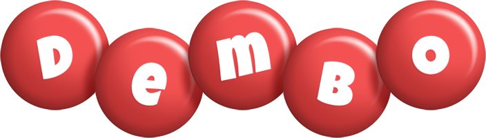 Dembo candy-red logo