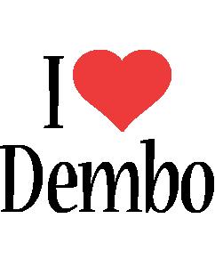 Dembo i-love logo