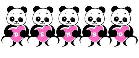 Dembo love-panda logo