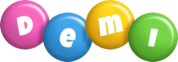 Demi candy logo