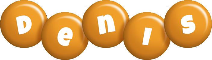 Denis candy-orange logo