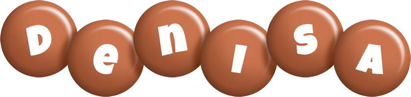 Denisa candy-brown logo
