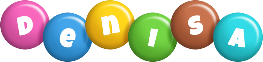 Denisa candy logo