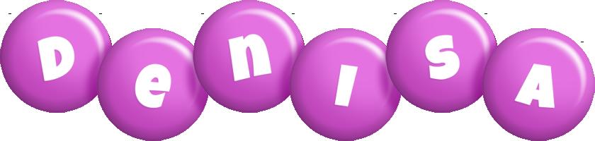 Denisa candy-purple logo
