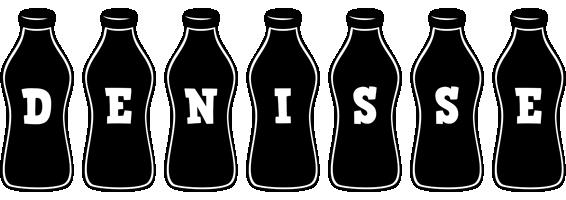 Denisse bottle logo