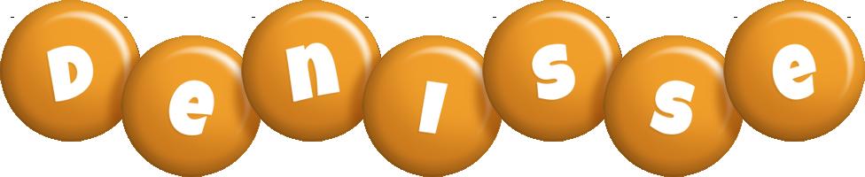 Denisse candy-orange logo