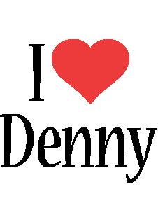 Denny i-love logo