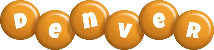 Denver candy-orange logo