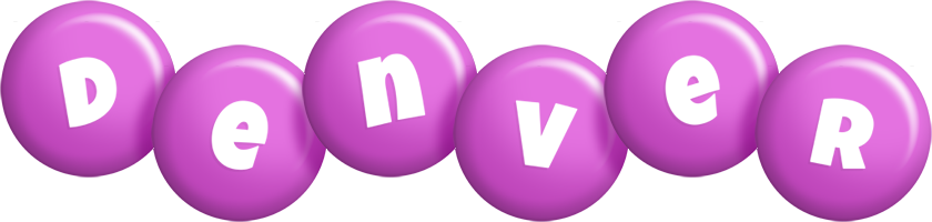 Denver candy-purple logo