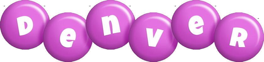 Denver candy-purple logo