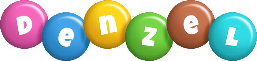 Denzel candy logo