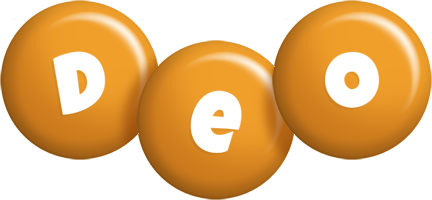 Deo candy-orange logo