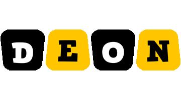 Deon boots logo