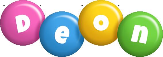Deon candy logo