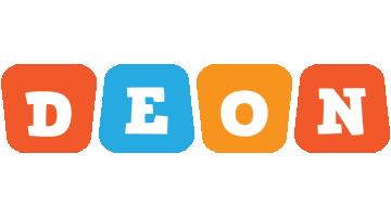 Deon comics logo