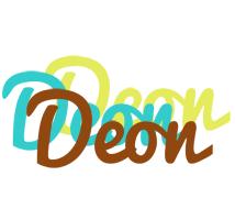 Deon cupcake logo